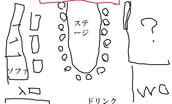 札幌すすきのプッシーキャット店内図